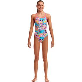 Funkita Tie Me Tight Swimsuit Girls, Multicolor